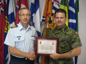 Commendation Capt Heagle